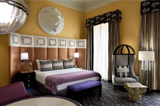 Kimpton Hotel Monaco Washington DC: Guestroom
