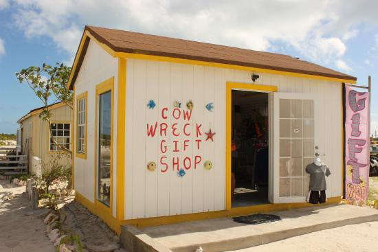 Cow Wreck Beach Bar A Gift With T Shirts And Island Knick Knacks