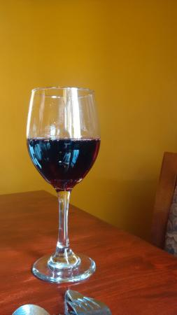 Jake & Humphreys' Bistro: Jacobs Creek Shiraz - a great start