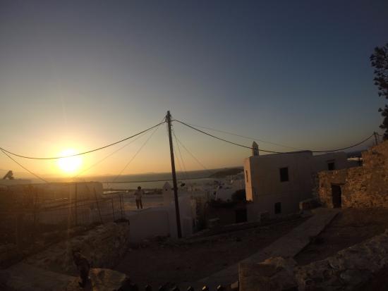นักซอสซิตี, กรีซ: Vista da un terrazzo