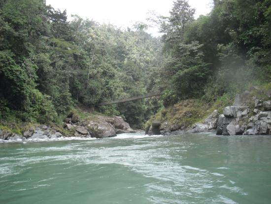 Pacuare River Tours: Views down the river