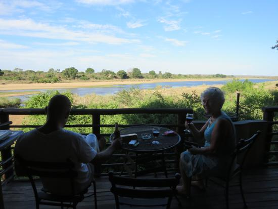 Lower Sabie Restcamp: View from tent 28