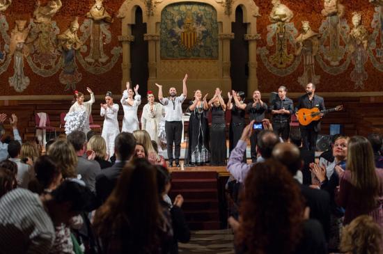 Barcelona y Flamenco at Palau de la Música, Barcelona - Picture of Barcelona ...