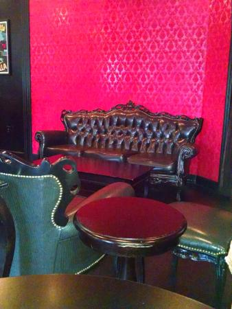 Cafe Lola Sitting Area In Dining Room
