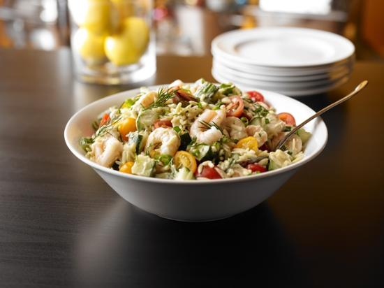 Spirit of New Jersey : Orzo Bay Shrimp Salad