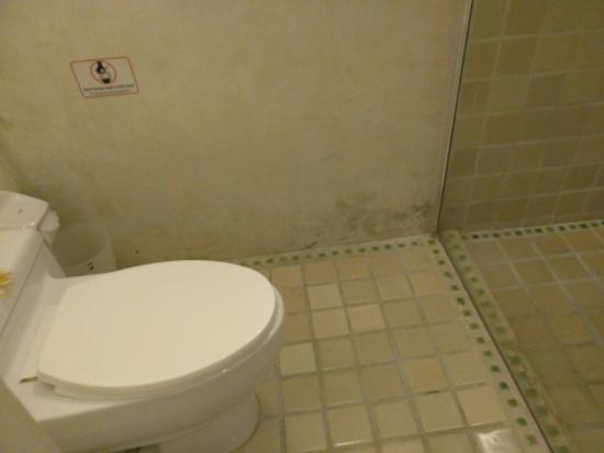 Aonang Princeville Resort: Bathroom stains