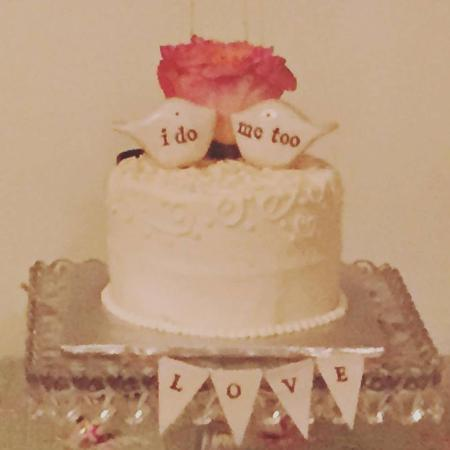Algodones, NM: Our Wedding Cake
