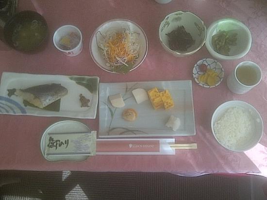 Resort Inn Marion Shinano: Desayuno.