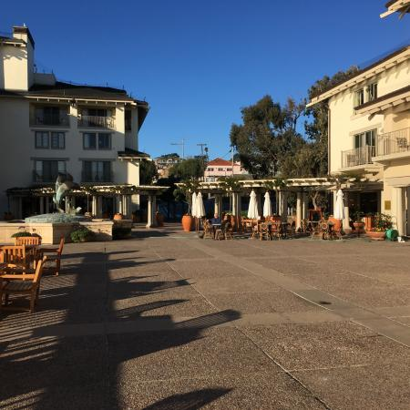 Cafe La Strada: Piazzetta