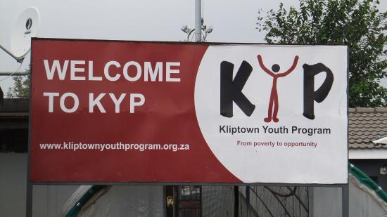 Johannesburg, África do Sul: Kliptown Youth Project