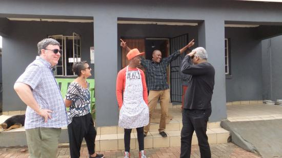 Johannesborg, Sydafrika: KYP - youth project in Soweto with Mo the youth worker.