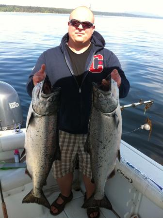 Campbell River, Canada: Great day fishing with Fastwater Charters Ltd!