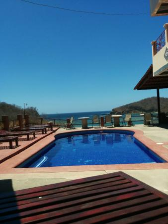 Casa Del Soul: Pool area from the hammocks