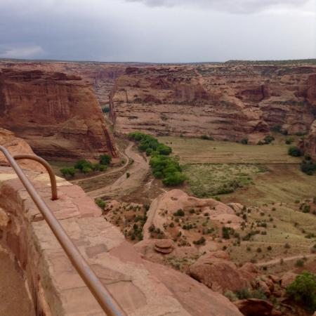 canyon de chelly national monument map pdf