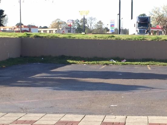 Texarkana, Арканзас: lawn not taken care of and trash everywhere