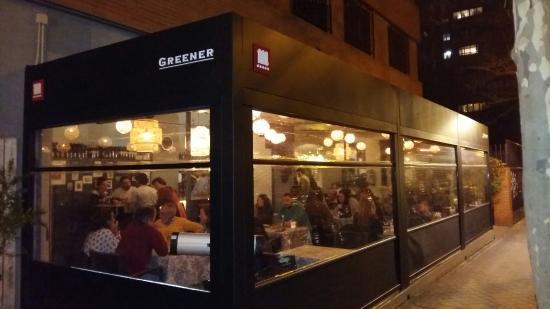 Greener cafe madrid barrio de salamanca fotos n mero - Restaurante greener ...