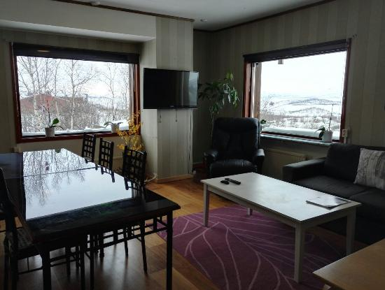 bedroom for 3 kitchen and public living room picture of abisko rh tripadvisor ie