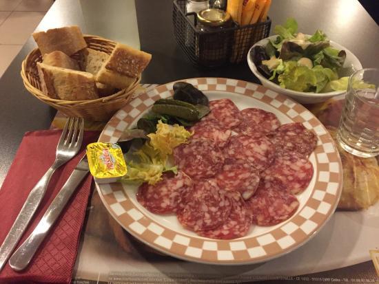 Grill Courtepaille : Repas