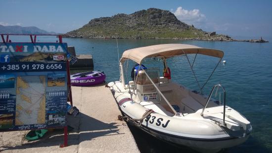 Taxi Daba boat, Sveti Juraj