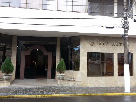 Fachada MAP Lages Picture Of Map Hotel Lages TripAdvisor - Lages map