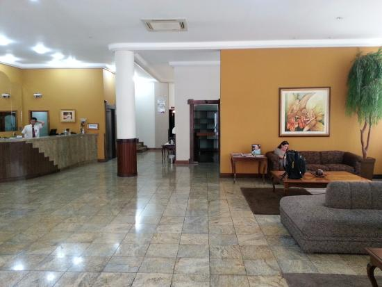 Photojpg Picture Of Map Hotel Lages TripAdvisor - Lages map