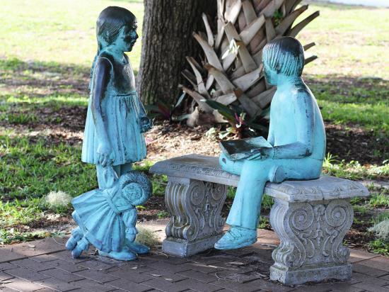 Jensen Beach, Floryda: Children Statue