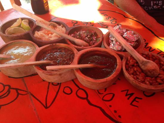 Condiments - Picture of EL ITACATE, Sayulita