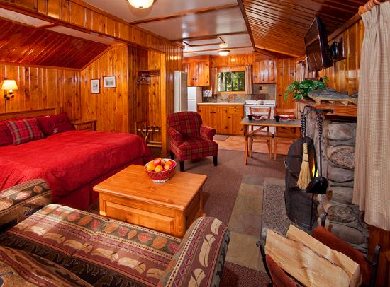 One Room Cabin Interiors Images