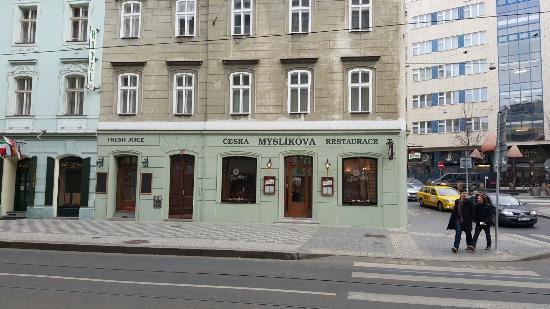 "Ресторан чешской кухни ""Myslikova"""