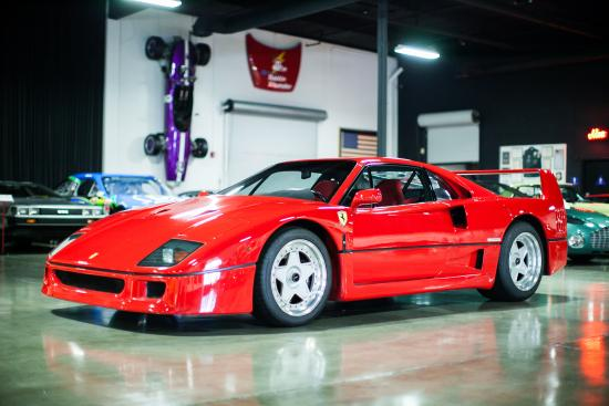 Marconi Automotive  Museum: Ferrari F40