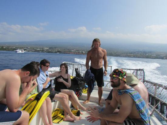 leao deep dives to impress picture of big island divers kailua rh tripadvisor com