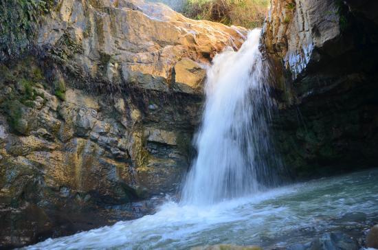 La valle delle cascate di Mistretta