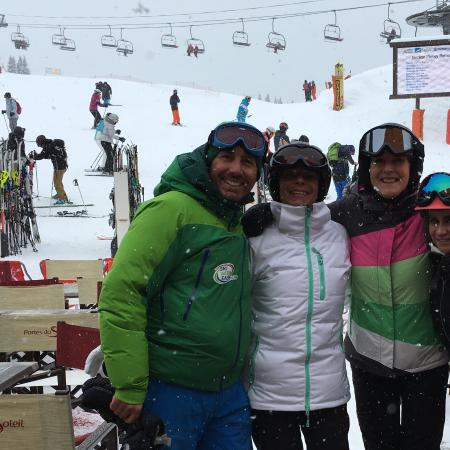 Haute-Savoie, Francia: Glenn - Ski with Ease - Brilliant. March 2016