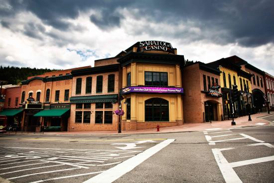 Black Hawk, CO: Saratoga Casino on the corner of Main and Gregory Streets