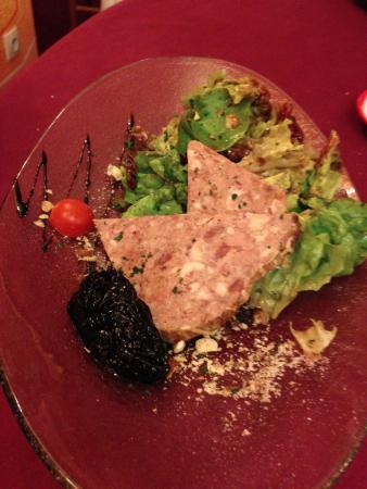 Saint Hubert: Foie Gras