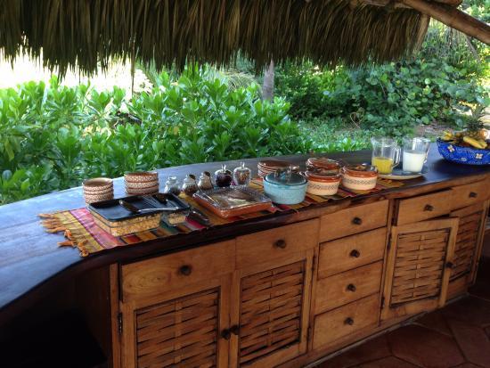 Petatlan, Mexiko: Desayuno delicioso!