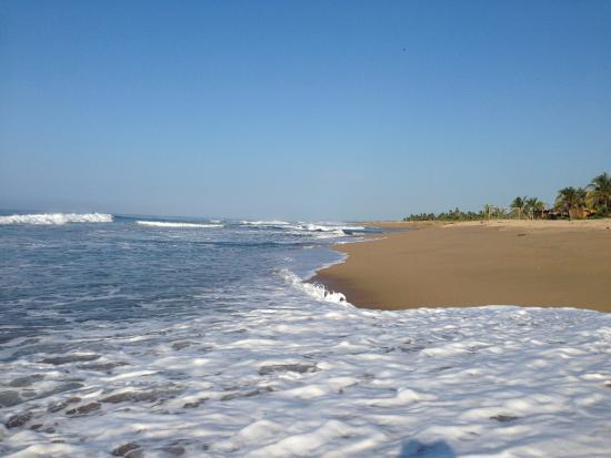 Petatlan, Mexiko: La playa super limpia, kilometros y kilometros de belleza!