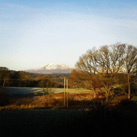 Llannerch Goch Luxury Cottages: The view in the morning...