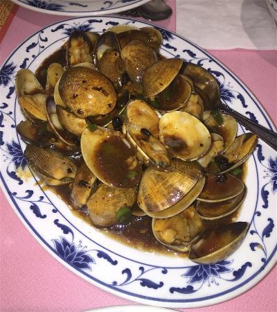 Paul Kee Restaurant: Clams with Black Bean Sauce