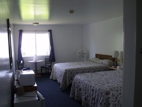 Grand Marais, MI: one room freshly painted