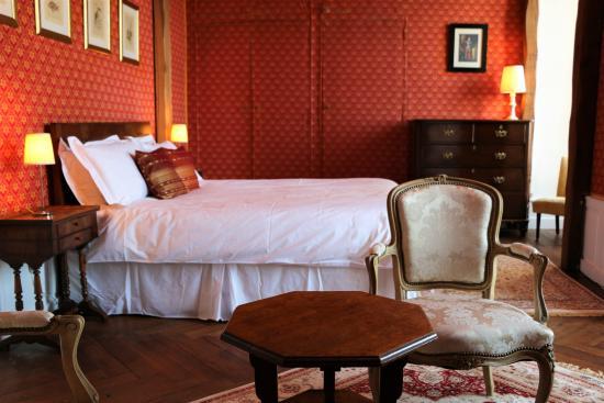 La Celle-Guenand, Франция: Master bedroom - Chevalier