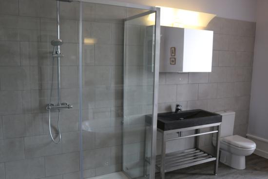 La Celle-Guenand, Франция: Master bathroom