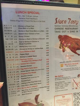 Siwon Tasty Chinese Restaurant
