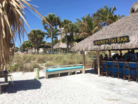 The Ritz Carlton Sarasota Lido Key Tiki Bar At Beach Club