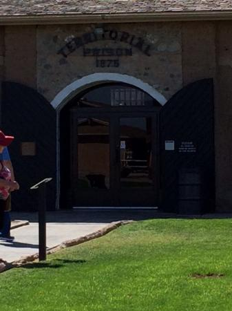 Yuma, AZ: Main entrance to the museum