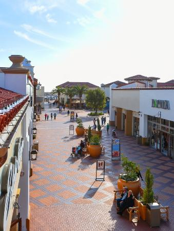Shoppers enjoy a day at Outlets at San Clemente