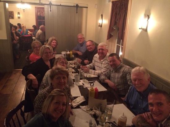 Bath, بنسيلفانيا: Family dinner