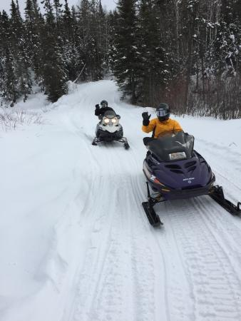 Fortune Bay Resort Casino: Snowmobile Trails