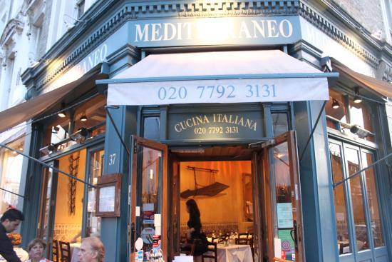 Mediterraneo italian restaurant 37 kensington park for 14th avenue salon albany oregon
