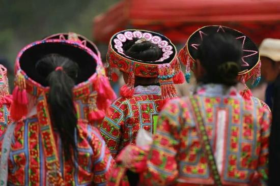 Mengzi, Kina: Yi Minority In Honghe,Yunnan